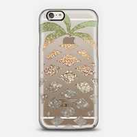 Pineapple Gold iPhone 6 Transparent Case iPhone 6 case by Monika Strigel | Casetify