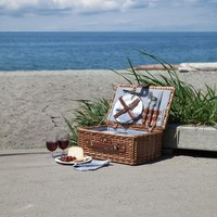 Newport Wicker Picnic Basket