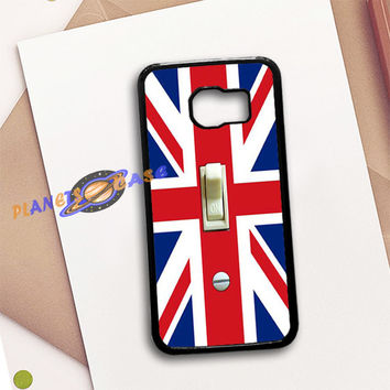 British Flag switch plate Samsung Galaxy S6 Case Planetscase.com