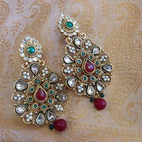 Kundan Jadau Earrings