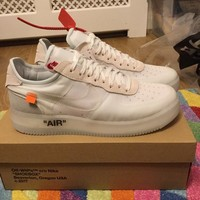 Mens Shoe, Nike x Off White Air Force 1 Low, UK 12