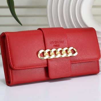 ONETOW GIVENCHY Leather Multicolor Purse Wallet