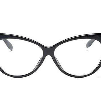 Cat's Eye Clear Eyeglasses For Women