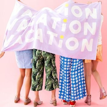 Giant Vacation Beach Towel