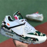 Off-White x Air Max 90 GS AA7293-101