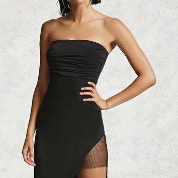 Contemporary Draped Tube Dress