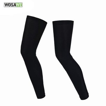 Men Women Cycling Leg Warmers MTB Road Bike Bicycle Leggings Running Basketball Soccer Legwarmers Sports Tights