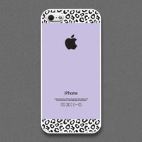 iPhone 5 case  violet and Leopard Pattern cases  also by evoncase