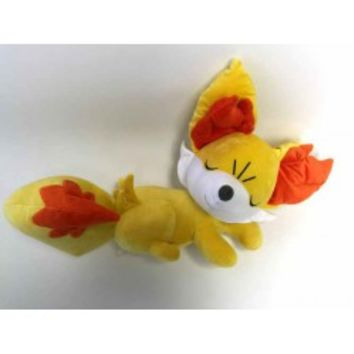 Pokemon Center 2015 Sleeping Fennekin Limited Edition Large Size Plush Toy
