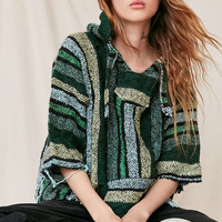 Urban Renewal Recycled Cropped Textured Hoodie Sweatshirt - Urban Outfitters