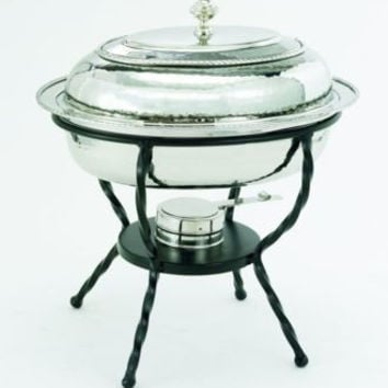 16.5 x 12.5 x 18 Oval Stainless Steel Chafing Dish 6 Qt.