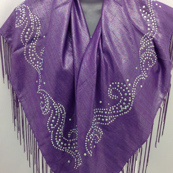 Purple square shawl, Elegant Piano Shawl, Gift For wife, Best Friend Gift, One of kind gift, Christmas gift for mother, Holiday gift, Piano
