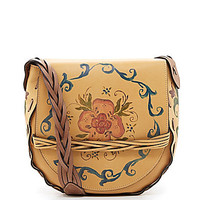 Patricia Nash Rosemaling Large Firenze Shoulder Bag | Dillards.com