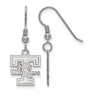 NCAA Sterling Silver University of Tennessee Small Dangle Earrings