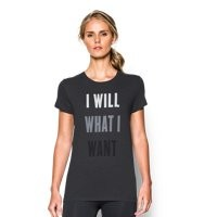 Under Armour Women's UA I Will What I Want Tri-Blend T-Shirt