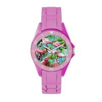 Flaming Pink Flamingo Watch