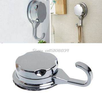 Chromed Suction Cup Kitchen Hooks for Towel Hooks Vacuum Hook Bathroom Wall Hook S08