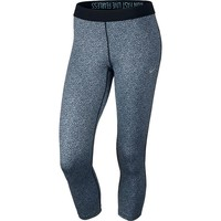 Nike Relay Dri-FIT Foldover Printed Crop Running Tights - Women's, Size: