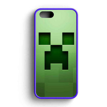 Creeper Minecraft  iPhone 5 Case iPhone 5s Case iPhone 5c Case