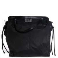 ONETOW BURBERRY Buckleigh Black Nylon Packable Tote