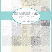 Modern Background Paper Layer Cake for Moda Fabrics, 10 inch squares