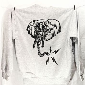 Electric Elephant Crewneck
