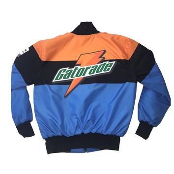 Nostalgic Club Gatorade Jacket in Blue