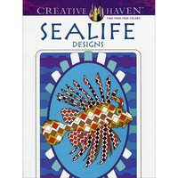 Sealife Designs to Color Coloring Book