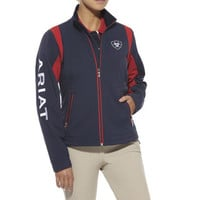Ariat Ladies Softshell Team Jacket and Light Weight Jackets  | EQUESTRIAN COLLECTIONS.COM
