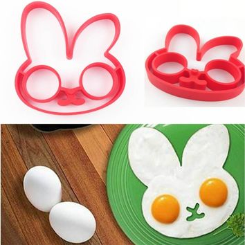 Cute Shaped Fried Egg Mold Pancake Rings Mold Kitchen Tool Cooking Omelette Cake Dessert Cookies Mould BBQ Convenient Gadgets