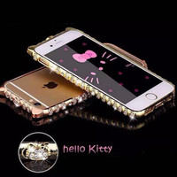Bling Bling Luxury Hello Kitty Rinestone iPhone Case for iPhone 6/6 Plus