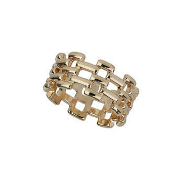 Stylish Jewelry New Arrival Shiny Gift Fashion Hollow Out Chain Ring [4956916612]