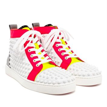 Spiked Louis Trainers - CHRISTIAN LOUBOUTIN