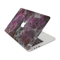Magenta Marble Skin for the Apple MacBook