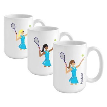 Go-Girl Coffee Mug - Tennis