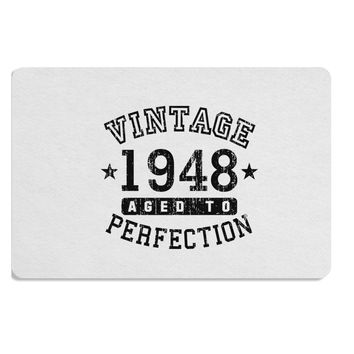 70th Birthday Vintage Birth Year 1948 Placemat by TooLoud