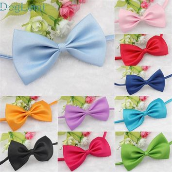 Dog Bow Tie Doglemi Lovely Pets hot selling Fashion Cute Dog Puppy Cat Kitten Pet Toy Kid Bow Tie Necktie Clothes nov3
