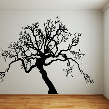 Vinyl Wall Decal Sticker Scary Tree #AC221