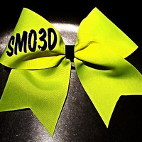 Smoed cheerleading bow