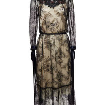Chantilly Lace Dress - Marc Jacobs