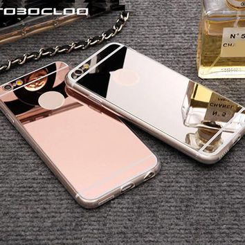 Cases For iPhone/Luxury Mirror