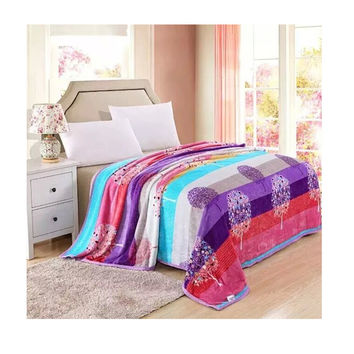 Two-side Blanket Bedding Throw Coral fleece Super Soft Warm Value  22