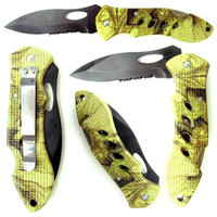 Whetstone? Campers Camouflage Pocket Knife