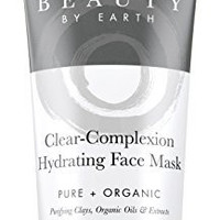 Facial Mask - Hydrating Face Clay Treatment - with Natural & Organic Ingredients for Acne, Deep Pore Cleansing & Spot Treatment - Men & Women with Dry, Combination, Oily or Sensitive Skin - USA Made