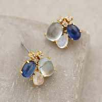 Bijou Cluster Posts by Indulgems Pearl One Size Earrings