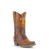 Gameday U Of Tennessee Ladies Leather Boots TEN-L110-1 - Brass