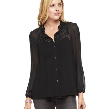 Embellished Georgette Top by Juicy Couture