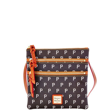 MLB Pirates Triple Zip Crossbody