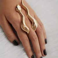 Snake Design Cute Ring 1pc