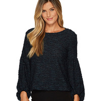 Vince Camuto Long Sleeve Bubble Sleeve Eyelash Knit Top